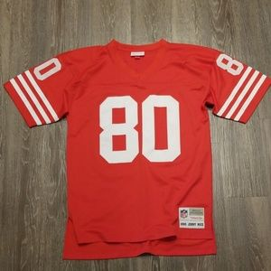 Mitchell & Ness Jerry Rice 49ers Throwback Jersey